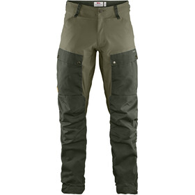 Fjällräven Keb Pantalon Homme, deep forest-laurel green